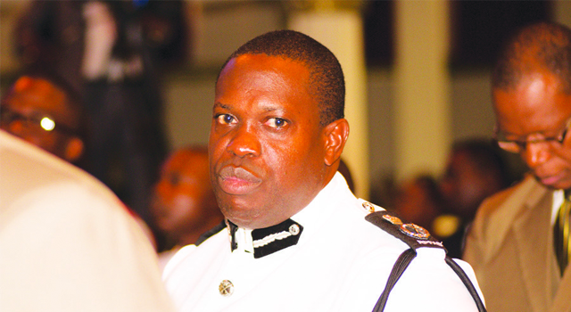 Commissioner of Police Wendell Robinson