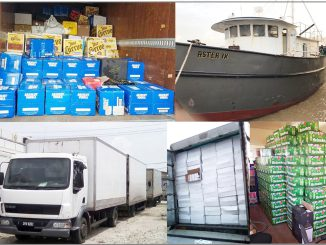 Goods smuggled into Guyana