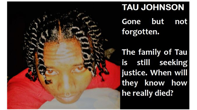 Tau Johnson still waiting for justice