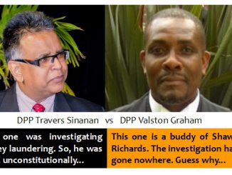 Was Valston Graham hired to derail the money laundering investigation?