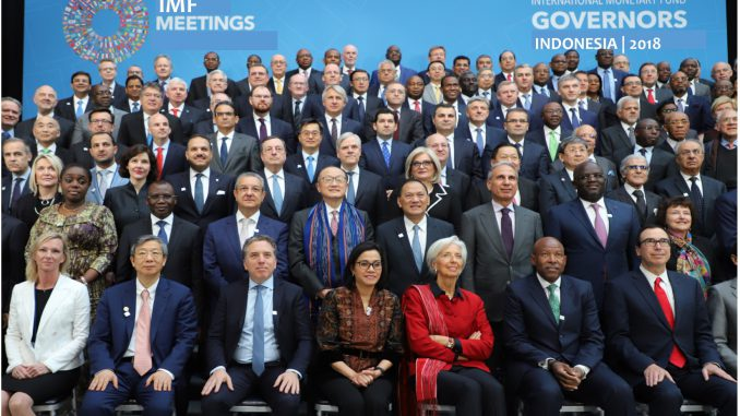 IMF GOVERNORS' MEETING