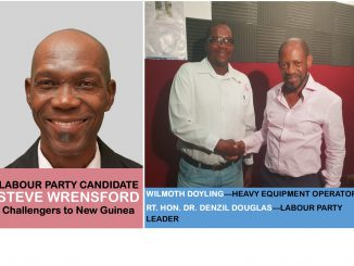 Wilmoth Doyling, former UNITY supporter, throws his weight behind Steve Wrensford