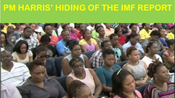 Kittitians and Nevisians aghast over Timothy Harris' refusal to release the IMF Report