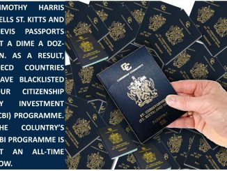St Kitts and Nevis passports sold at a dime a dozen