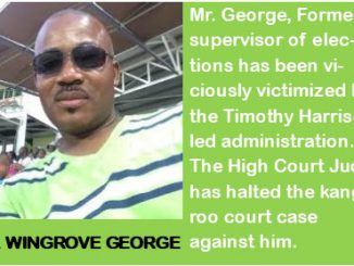Wingrove George, former supervisor of elections