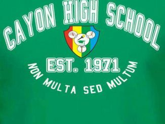 Cayon High School banner