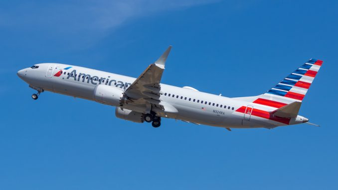 Image of AA Plane.